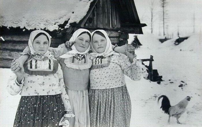 Как изменились русские крестьянки за полвека