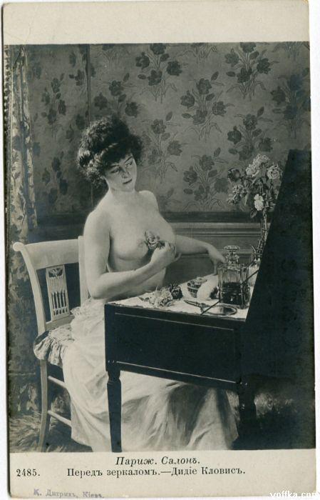 Забытое искусство эротических открыток