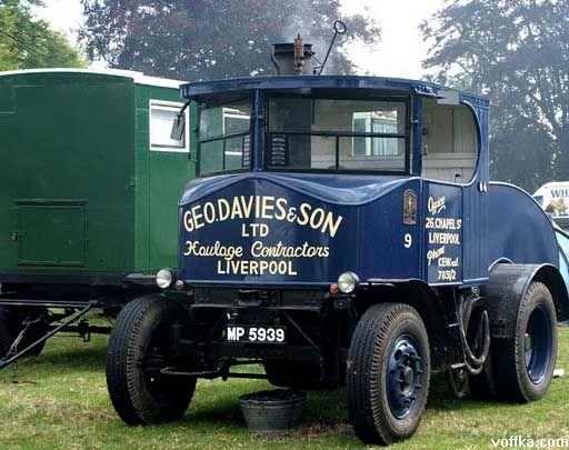 Паровые автобусы и грузовики