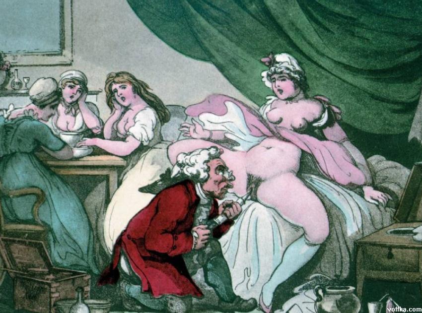 проститутка 18 века