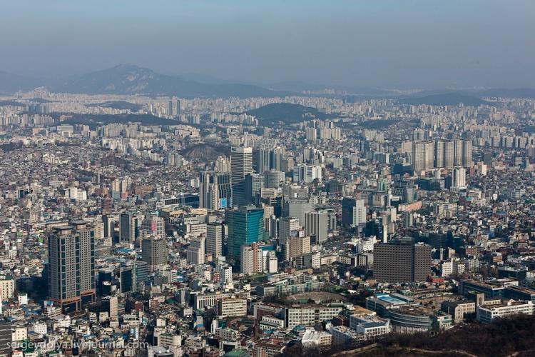 Экскурсия по Сеулу