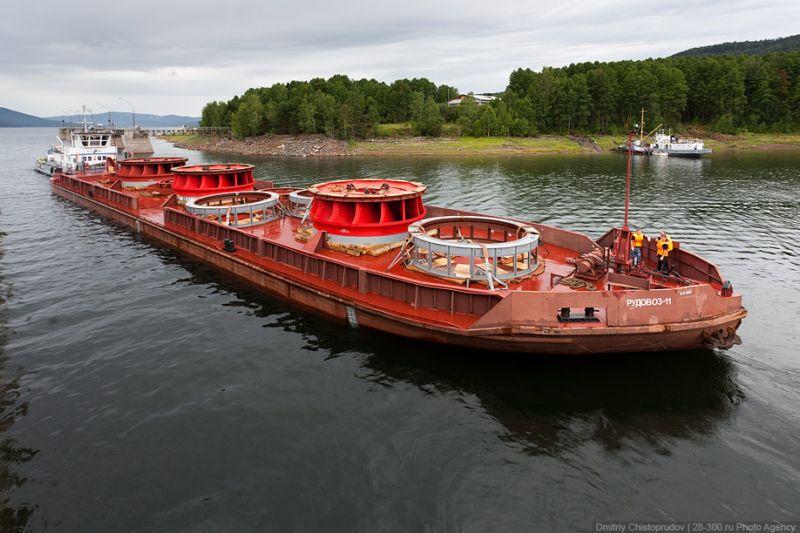 Судоподъемник Красноярской ГЭС