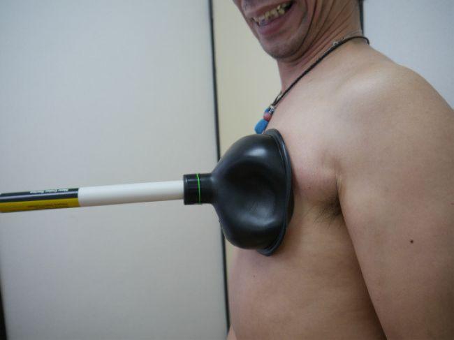 вантуз и грудь